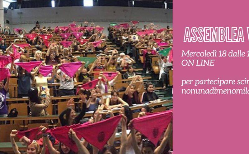 Assemblea NUDM Milano verso il 25N – 19 novembre