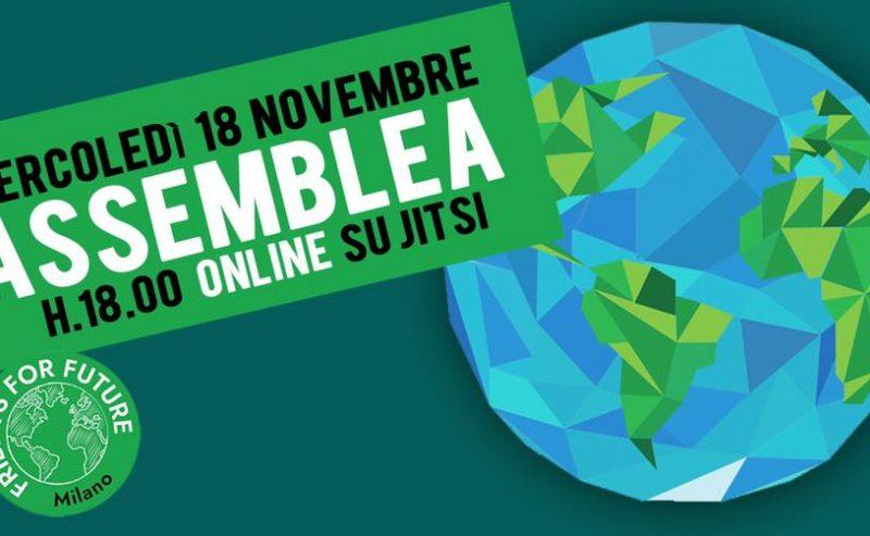 FFF – Assemblea Ordinaria Online – 18 novembre