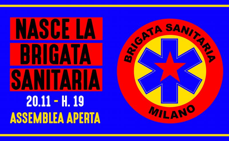 Nasce la brigata sanitaria a Milano