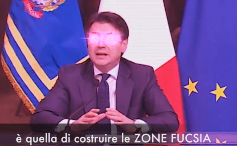 Annunciata la Zona Fucsia verso il 25 novembre 2020
