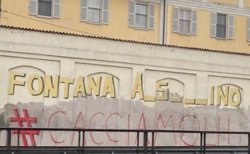 """""""Fontana a.s…ino"""" – Il gioco di parole sui muri di Milano"""