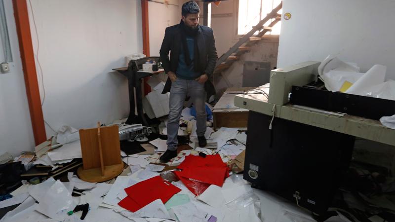 Raid nelle case, la vita sconvolta dei palestinesi