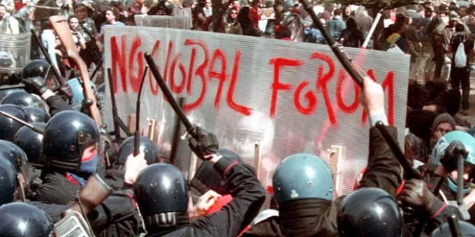 Napoli, 17 marzo 2001 – L'antipasto del G8