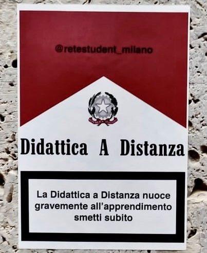 Didattica a distanza: nuoce gravemente all'apprendimento. Cerca di smettere!