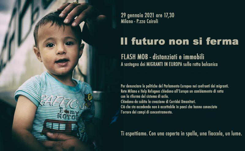 Europa: Il Futuro non si ferma! Venerdì 29 gennaio in piazza per i migranti sui Balcani
