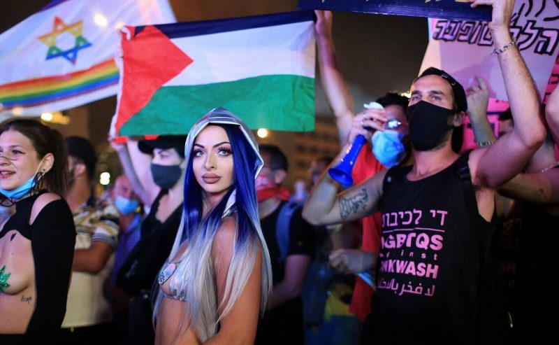 """Love is love"" a Tel Aviv…sì, ma i palestinesi?"