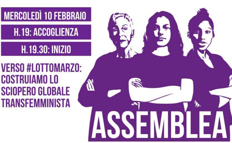 Assemblea di Non Una Di Meno Milano – 10 febbraio