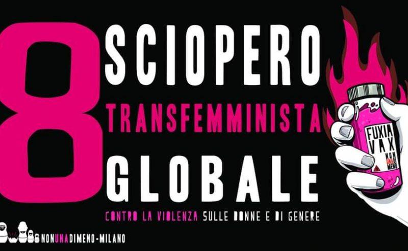 8 marzo a Milano, contro la violenza sulle donne e di genere