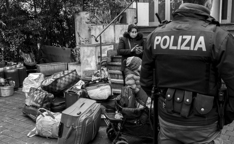Sgomberata occupazione abitativa a Dergano