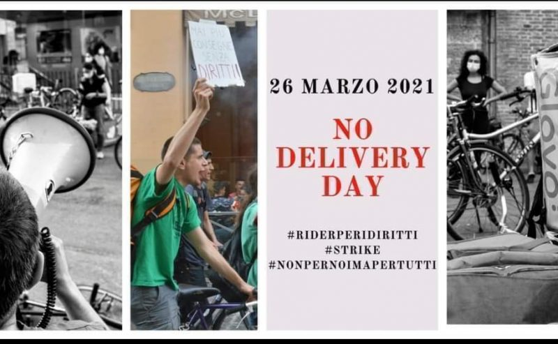 No delivery day – 26 marzo