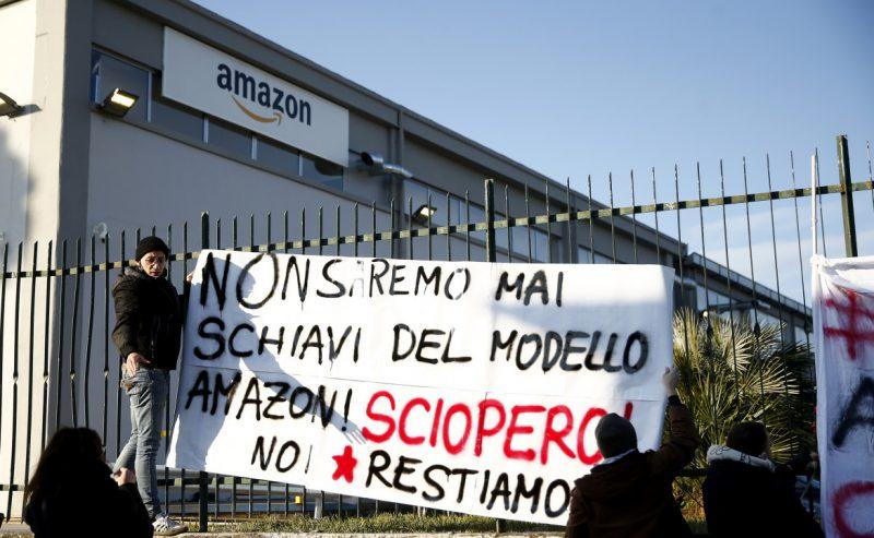 Sciopero Amazon riuscito: «Adesione media del 75%»