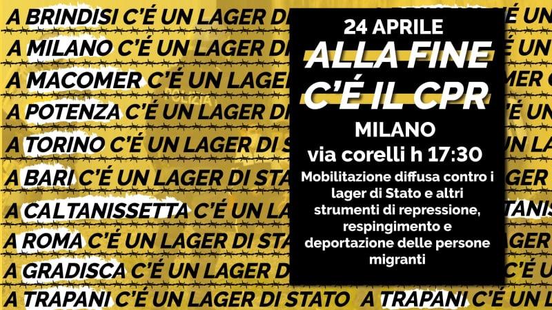 Alla fine c'è il CPR – Milano