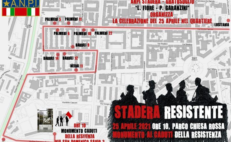 25 aprile – Stadera resistente – ore 10 @ Parco Chiesa Rossa