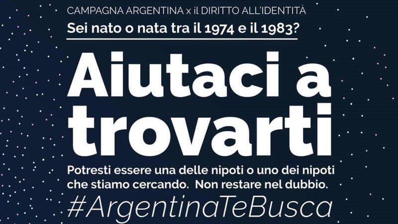 Aiutiamo a trovare i bambini rapiti durante il terrorismo di Stato in Argentina