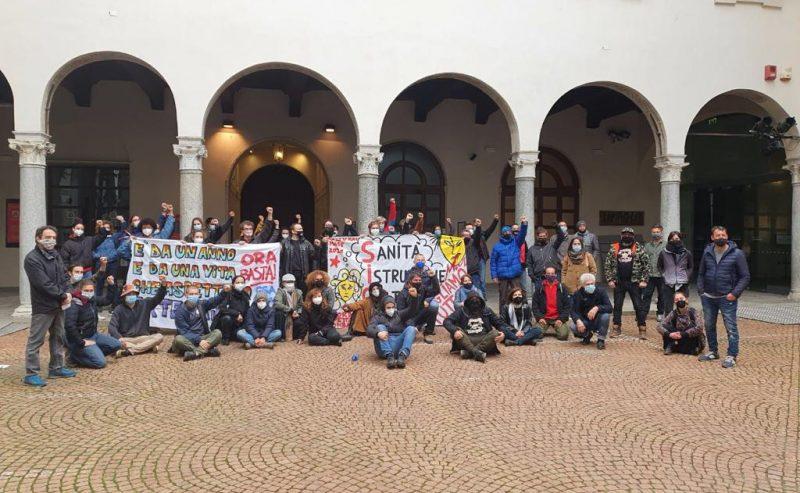 Piccolo Teatro Grassi, diario dell'occupazione