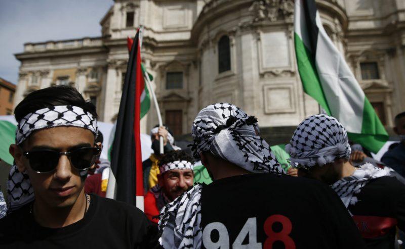 Da Roma a Milano, i giovani palestinesi uniscono le lotte