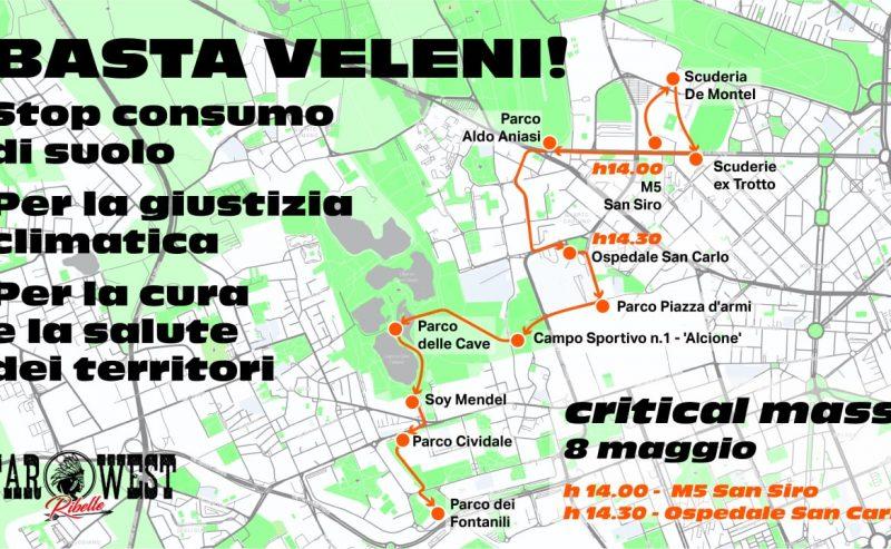 Basta Veleni! Stop consumo di suolo – Critical Mass per la cura e la salute dei territori – vol. 3