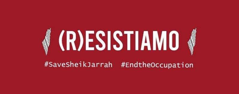 (R)esistiamo: presidio solidale con il popolo palestinese