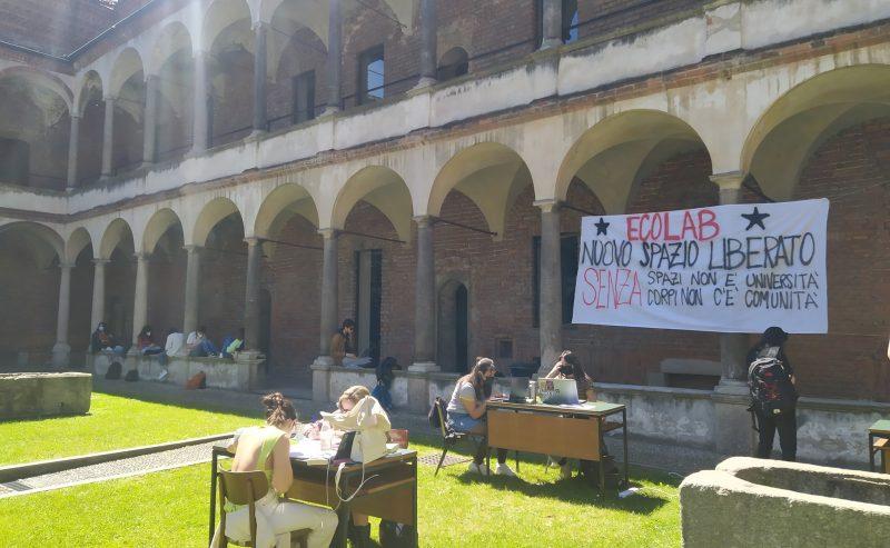 Nuova occupazione in università: alla Statale di Milano nasce Ecolab