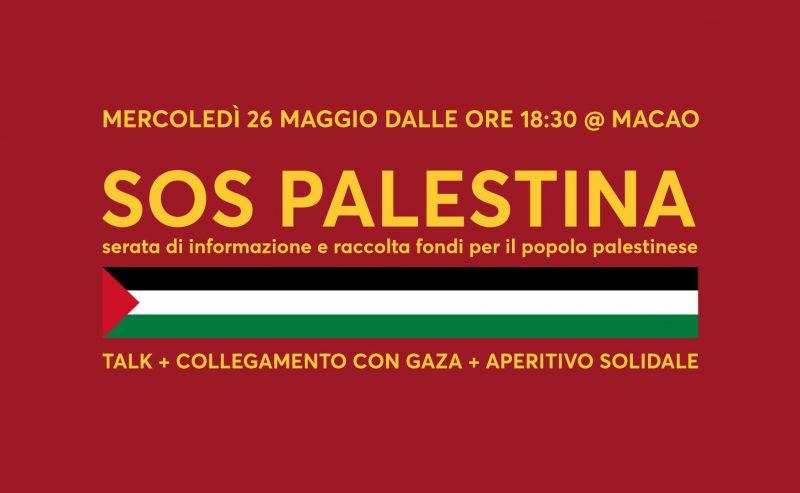 26 maggio – SOS Palestina