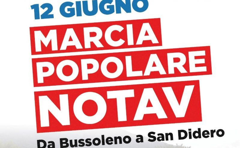 Sabato 12 giugno: marcia popolare NoTav