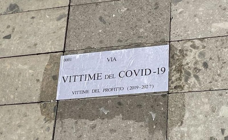Covid19 – Qualcuno non dimentica la strage lombarda