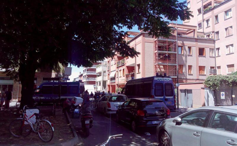 Sgomberato l'abitativo di via Iglesias