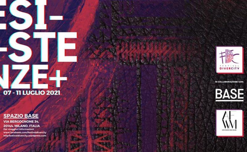 """FestivalDiverCity 2021 """"ESISTENZE"""" – 7/11 luglio"""