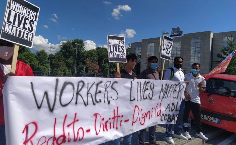 Grafica Veneta: lo sdegno non basta, occorre schierarsi a fianco dei lavoratori vittime di caporalato