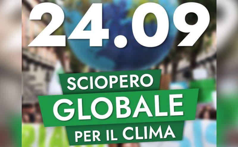 24.09 – Sciopero Globale per il Clima!