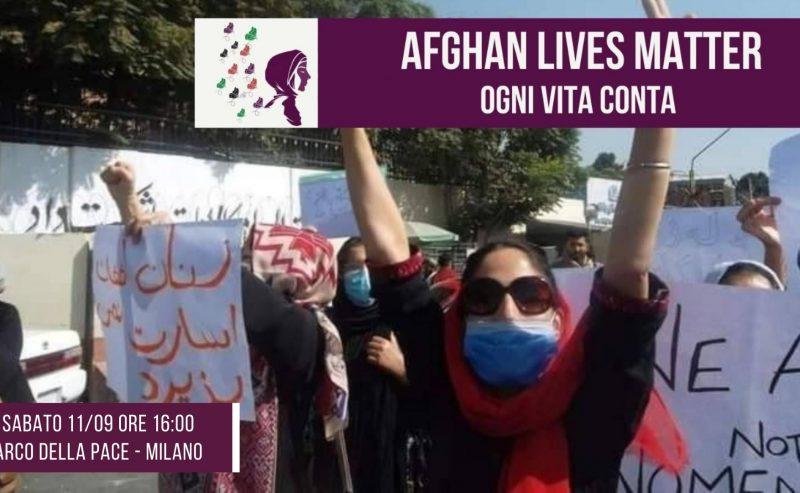 Uniamoci alla Resistenza delle donne afghane! – 11 settembre all'Arco della Pace