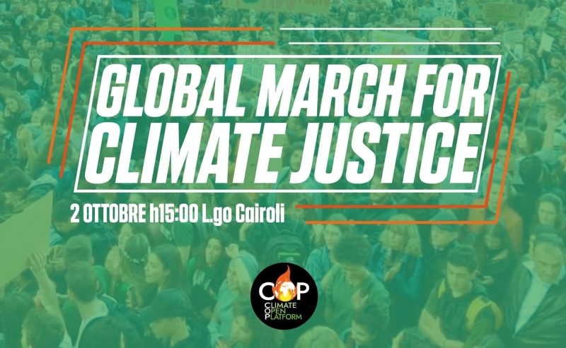 Global March for Climate Justice – 2 ottobre