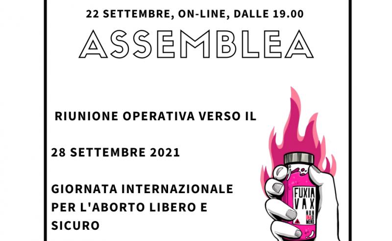 Assemblea cittadina di Non Una Di Meno – 22 settembre
