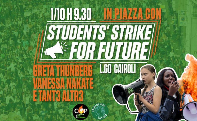 Student Strike for Future – Scendiamo in piazza con Greta Thunberg e Vanessa Nakate