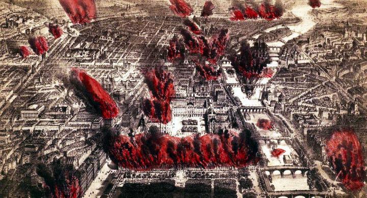"""""""L'ombra del fuoco"""" – Il romanzo dei 71 giorni infuocati della Comune di Parigi"""