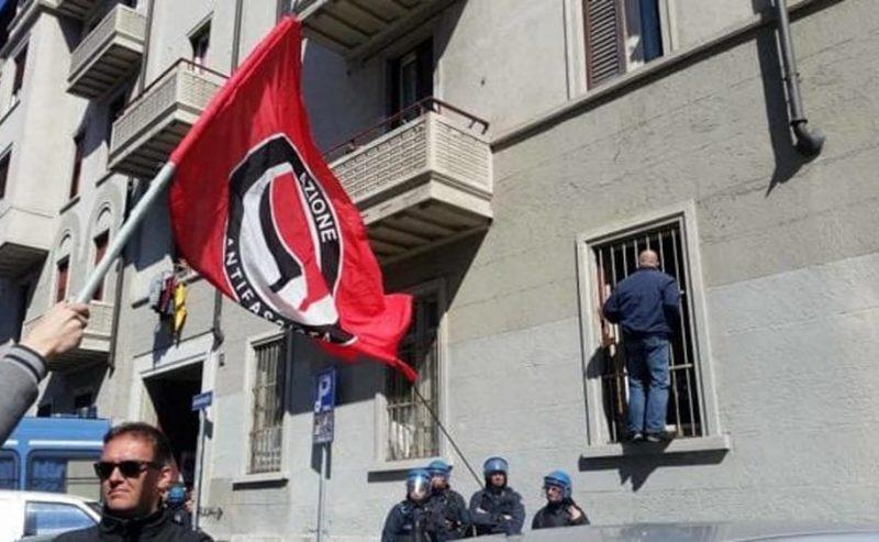 A Milano i neofascisti da 8 anni in una casa popolare, nonostante le proteste
