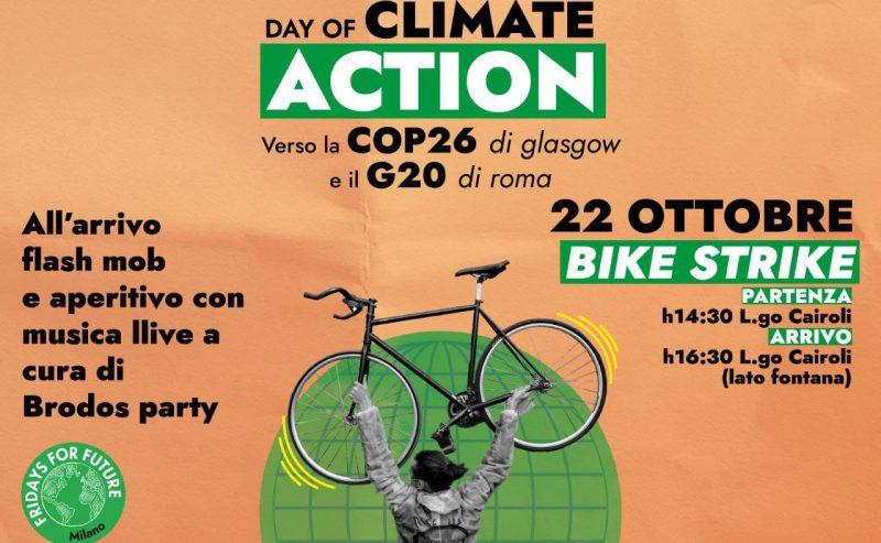Fridays For Future – 22/10 Bike strike + flash mob