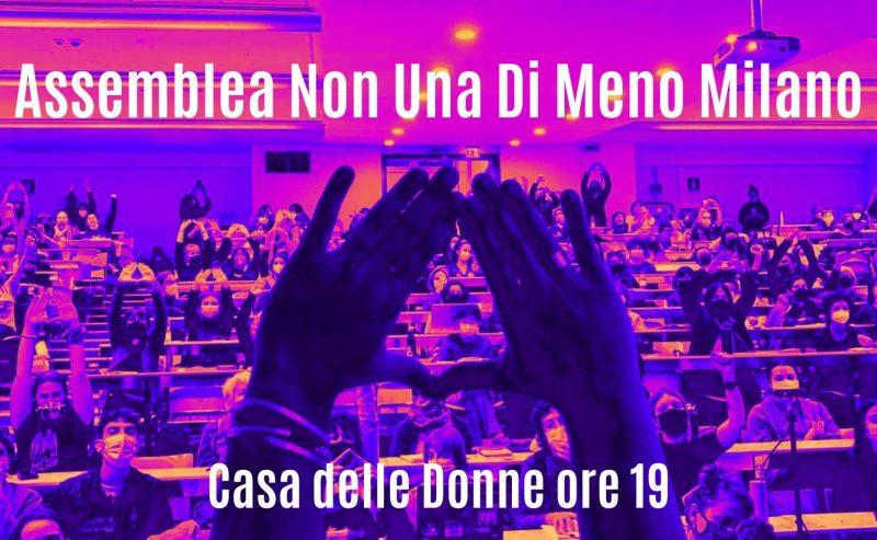 Assemblea Non Una di Meno Milano (verso il 27N e oltre!) – 20 ottobre