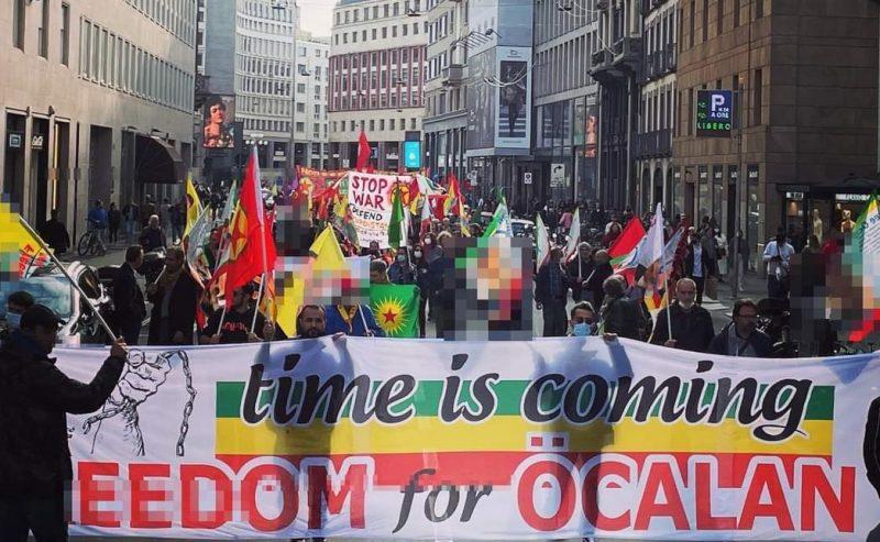 Milano, in corteo per la libertà di Ocalan e del popolo curdo