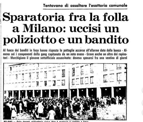 Assalto Esattoria 17 novembre 1976