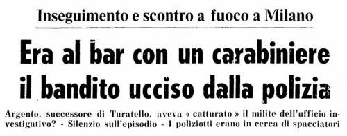 Omicidio Carlo Argento 13 febbraio 1978