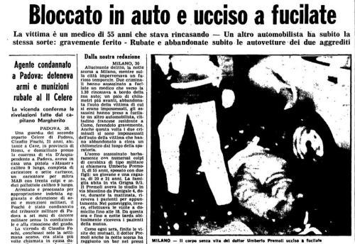 Omicido Premoli ottobre 1976