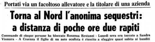 Sequestri maggio 1980