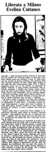 Sequestro Cattaneo 16 maggio 1979
