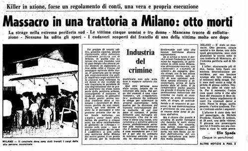 Strage del Moncucco 3 novembre 1979